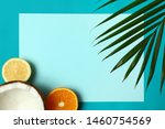 flat lay composition with fresh ... | Shutterstock . vector #1460754569