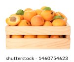 Wooden Crate Of Delicious Ripe...