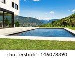 modern villa   outdoor  view... | Shutterstock . vector #146078390