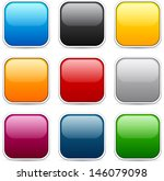 set of blank colorful square... | Shutterstock .eps vector #146079098