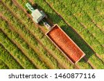 Aerial Image Of A Tractor And...