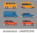 different car vehicle transport ... | Shutterstock .eps vector #1460951540
