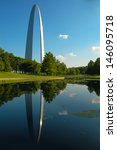 The Gateway Arch And Reflectio...