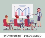 business presentation and... | Shutterstock .eps vector #1460966810
