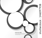 simple circles background | Shutterstock .eps vector #146097938