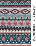 seamless ethnic vector pattern... | Shutterstock .eps vector #146101904