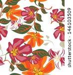 background floral  | Shutterstock . vector #146103509