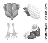 vector design of cuisine and... | Shutterstock .eps vector #1461050096