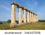 tavole palatine. metaponto.... | Shutterstock . vector #146107058
