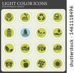 alternative energy web icons... | Shutterstock .eps vector #1461118496