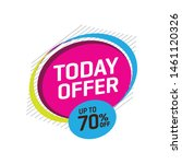 sale and special offer tag ... | Shutterstock .eps vector #1461120326