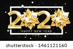 2020 happy new year party... | Shutterstock . vector #1461121160