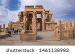 kom ombo  egypt   june 3  2019  ...   Shutterstock . vector #1461138983