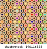 colored pencils seamless... | Shutterstock .eps vector #146116838