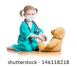 child girl with clothes of... | Shutterstock . vector #146118218