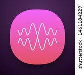 sound  audio wave app icon....