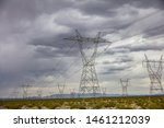 Electric Powerlines  High...