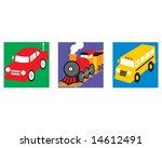 transportation | Shutterstock .eps vector #14612491