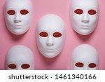 White Face Masks Composition On ...