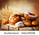 Постер, плакат: Bakery Bread on a