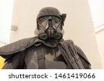 dubai uae  2019  darth vader in ... | Shutterstock . vector #1461419066