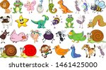 set of different animals...   Shutterstock .eps vector #1461425000
