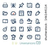 universal icons set perfect... | Shutterstock .eps vector #146144114