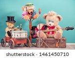 Retro Teddy Bear Toys With Play ...