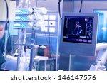 ultrasound machine in a modern... | Shutterstock . vector #146147576