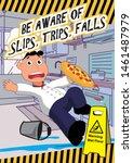 Kitchen Safety Poster Mind The...