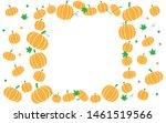 autumn pumpkins maple leaf vine ...   Shutterstock .eps vector #1461519566