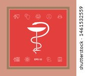pharmacy symbol medical snake... | Shutterstock .eps vector #1461532559