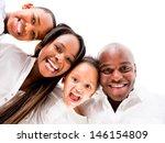 african american family looking ... | Shutterstock . vector #146154809