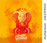 ganesh chaturthi  also known as ... | Shutterstock .eps vector #1461555023