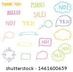 doodles with text in sketch... | Shutterstock .eps vector #1461600659