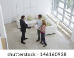 elevated view of a male real... | Shutterstock . vector #146160938