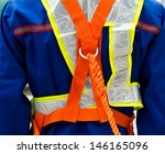 construction site worker with... | Shutterstock . vector #146165096