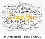 "love words ""i love you"" in... | Shutterstock .eps vector #1461672929"