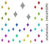 shine multi color icon. simple...