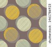 polka dots seamless pattern.... | Shutterstock .eps vector #1461786923
