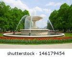 Historic Fountain In Saski Par...