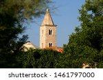 Historic Church of St Anselm in central Nin, Croatia.