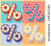 vector illustration of simple... | Shutterstock .eps vector #146181260