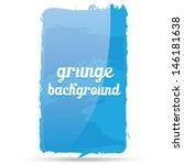 grunge glossy blue background....   Shutterstock .eps vector #146181638