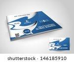 corporate business brochure... | Shutterstock .eps vector #146185910