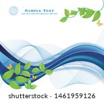 floral abstract background... | Shutterstock .eps vector #1461959126