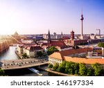 Stock photo skyline of berlin 146197334
