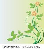 floral background decoration... | Shutterstock .eps vector #1461974789
