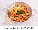 fried shrimp | Shutterstock . vector #146199500