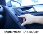 press the button to open car... | Shutterstock . vector #146200289